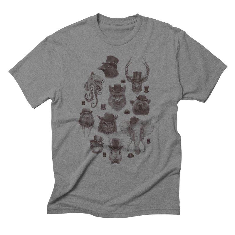 Gentlemen Men's Triblend T-shirt by Windville's Artist Shop