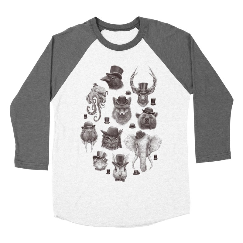 Gentlemen Men's Baseball Triblend T-Shirt by Windville's Artist Shop