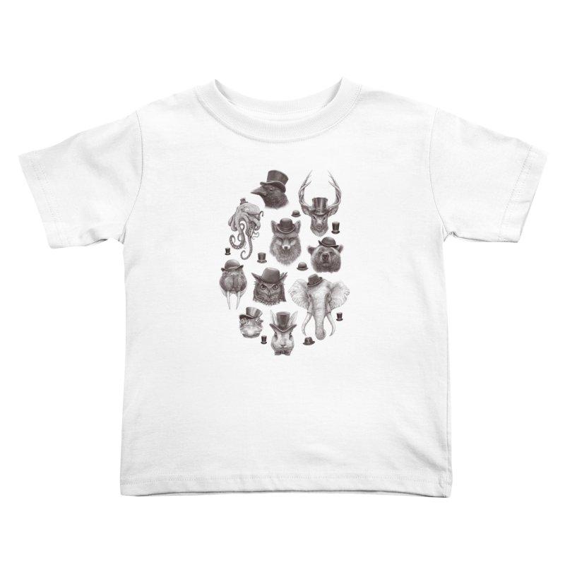 Gentlemen Kids Toddler T-Shirt by Windville's Artist Shop