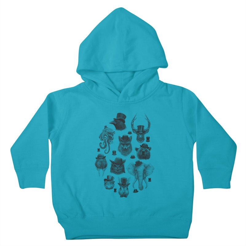 Gentlemen Kids Toddler Pullover Hoody by Windville's Artist Shop