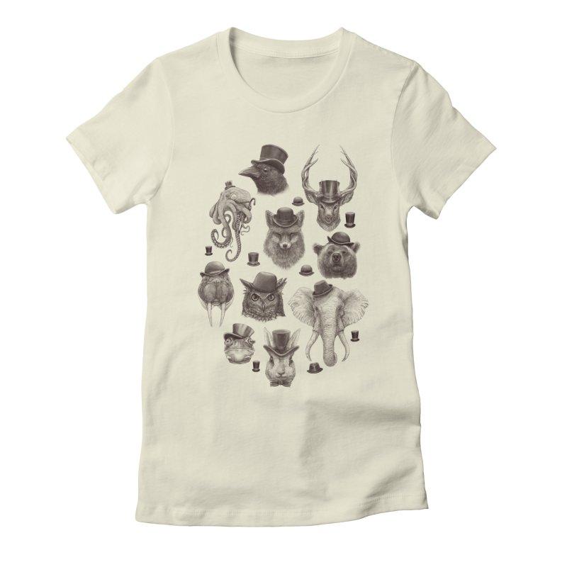Gentlemen Women's Fitted T-Shirt by Windville's Artist Shop
