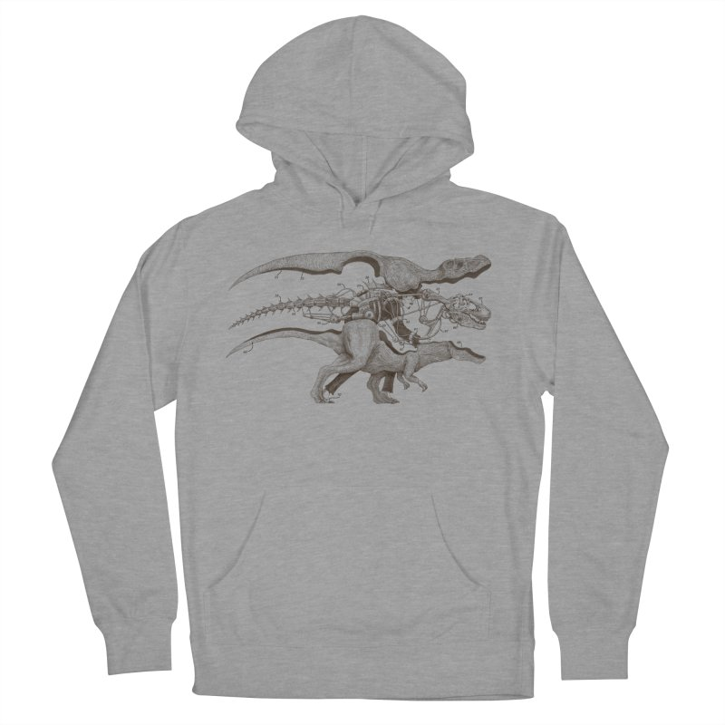 Mr. Rex Men's Pullover Hoody by Windville's Artist Shop