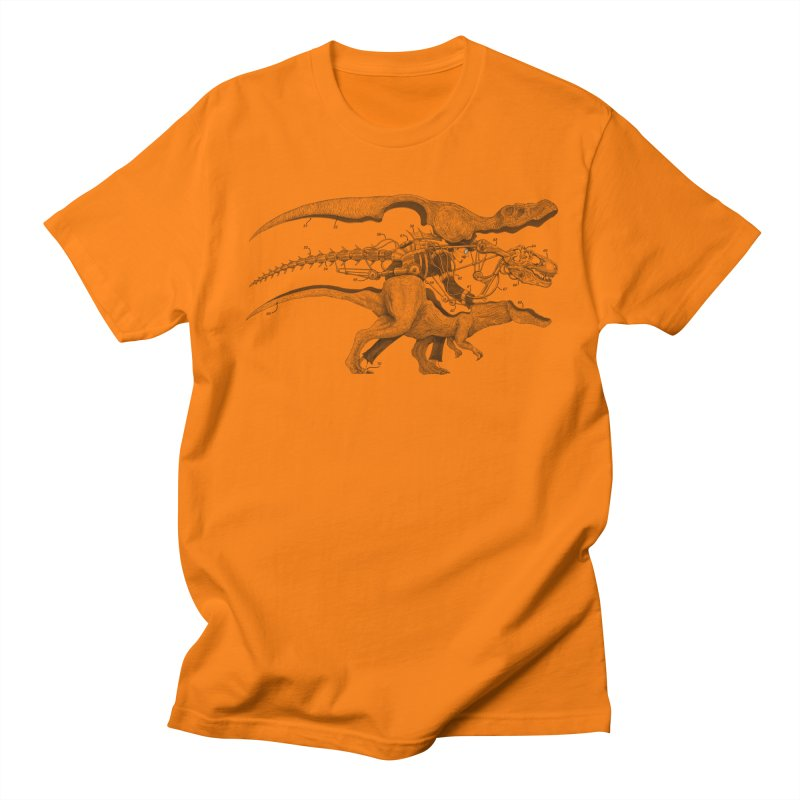 Mr. Rex Men's T-shirt by Windville's Artist Shop
