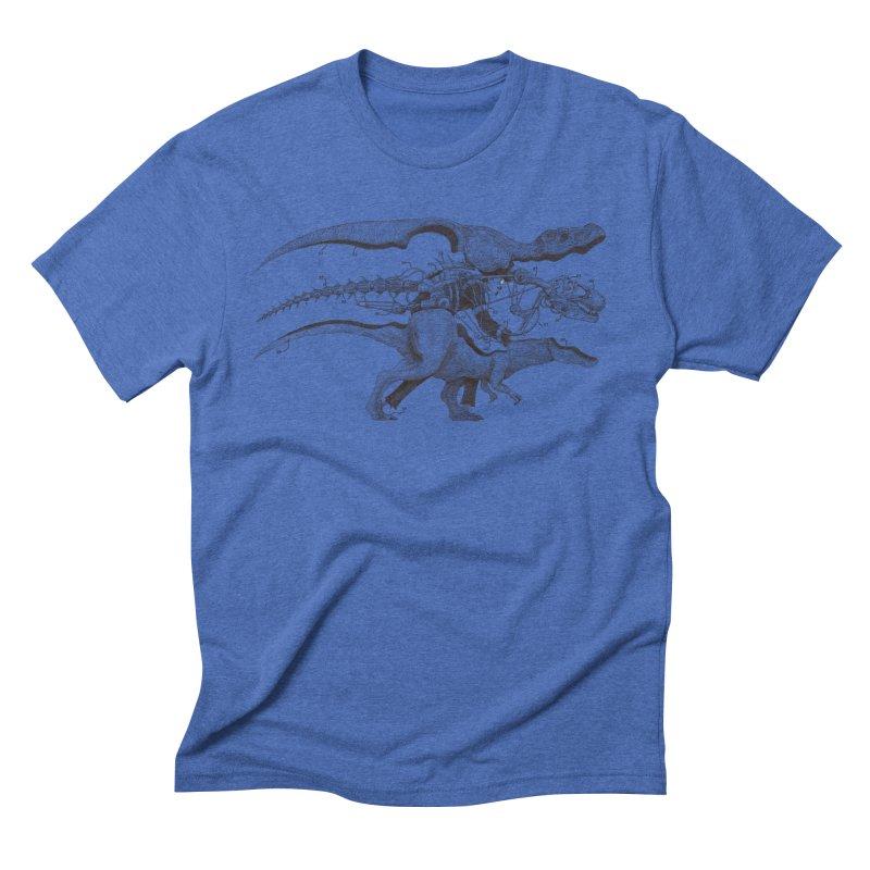 Mr. Rex Men's Triblend T-Shirt by Windville's Artist Shop