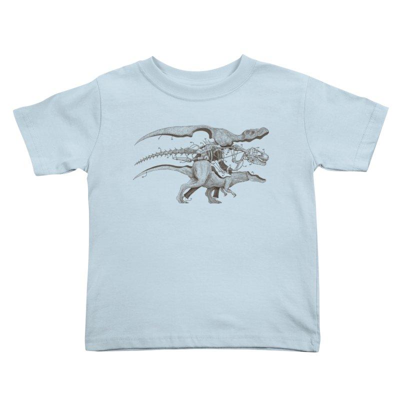 Mr. Rex Kids Toddler T-Shirt by Windville's Artist Shop