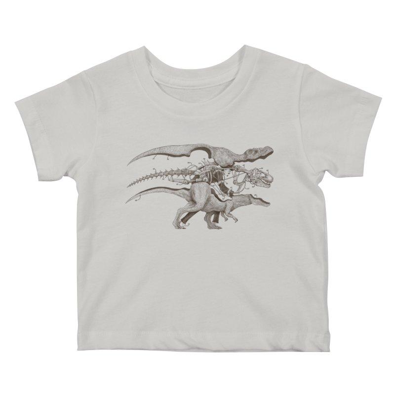 Mr. Rex Kids Baby T-Shirt by Windville's Artist Shop