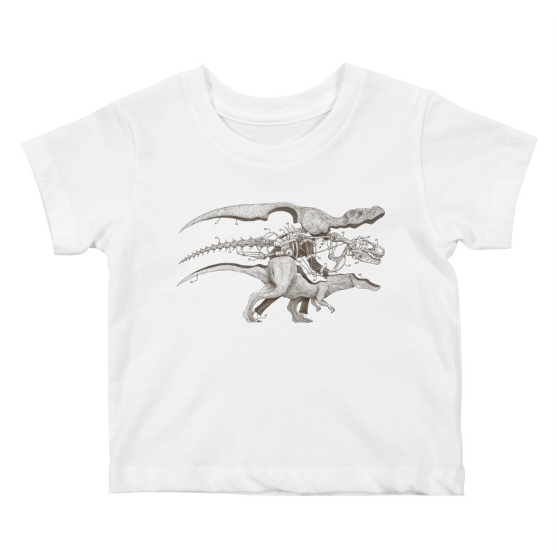 Mr. Rex Kids Baby T-Shirt by Windville's Artist Shop