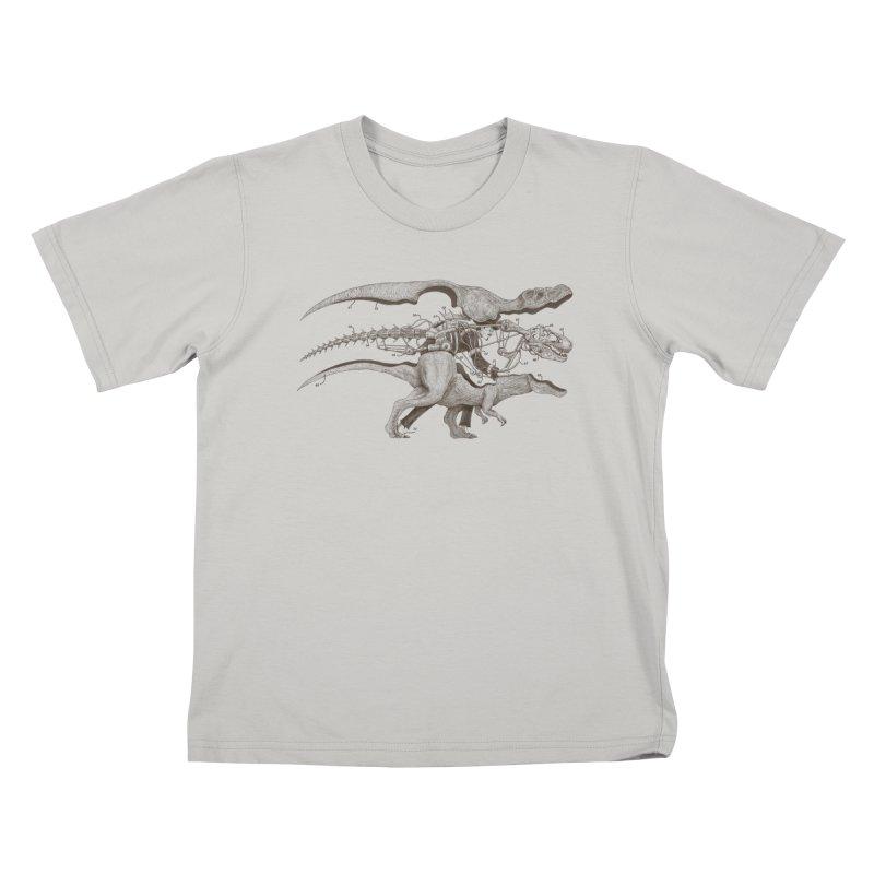 Mr. Rex Kids T-shirt by Windville's Artist Shop