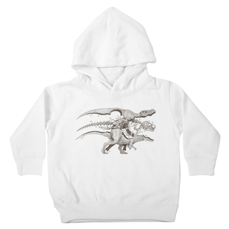 Mr. Rex Kids Toddler Pullover Hoody by Windville's Artist Shop