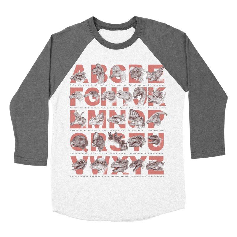 Dinopedia Women's Baseball Triblend T-Shirt by Windville's Artist Shop