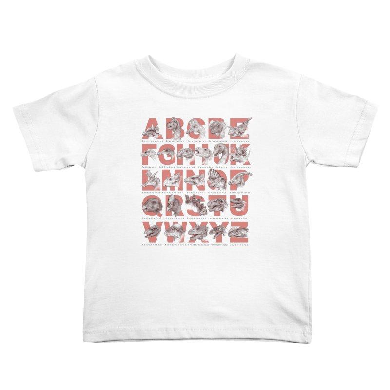 Dinopedia Kids Toddler T-Shirt by Windville's Artist Shop