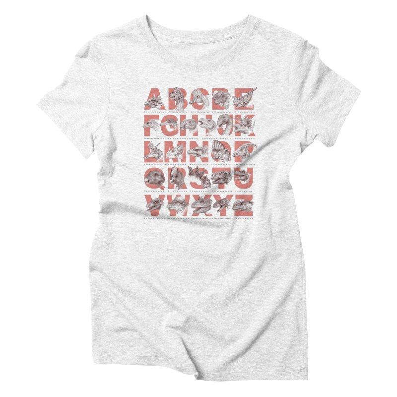 Dinopedia Women's Triblend T-shirt by Windville's Artist Shop