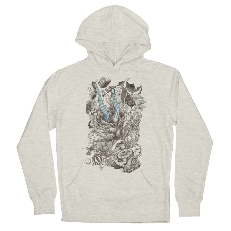 Wonderland Men's Pullover Hoody by Windville's Artist Shop