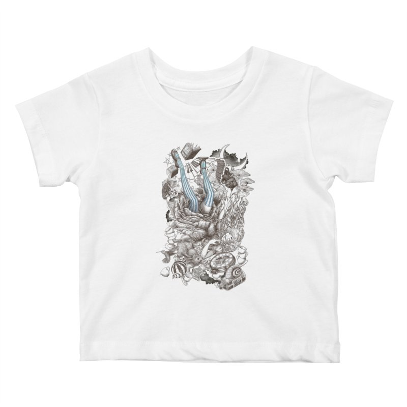 Wonderland Kids Baby T-Shirt by Windville's Artist Shop