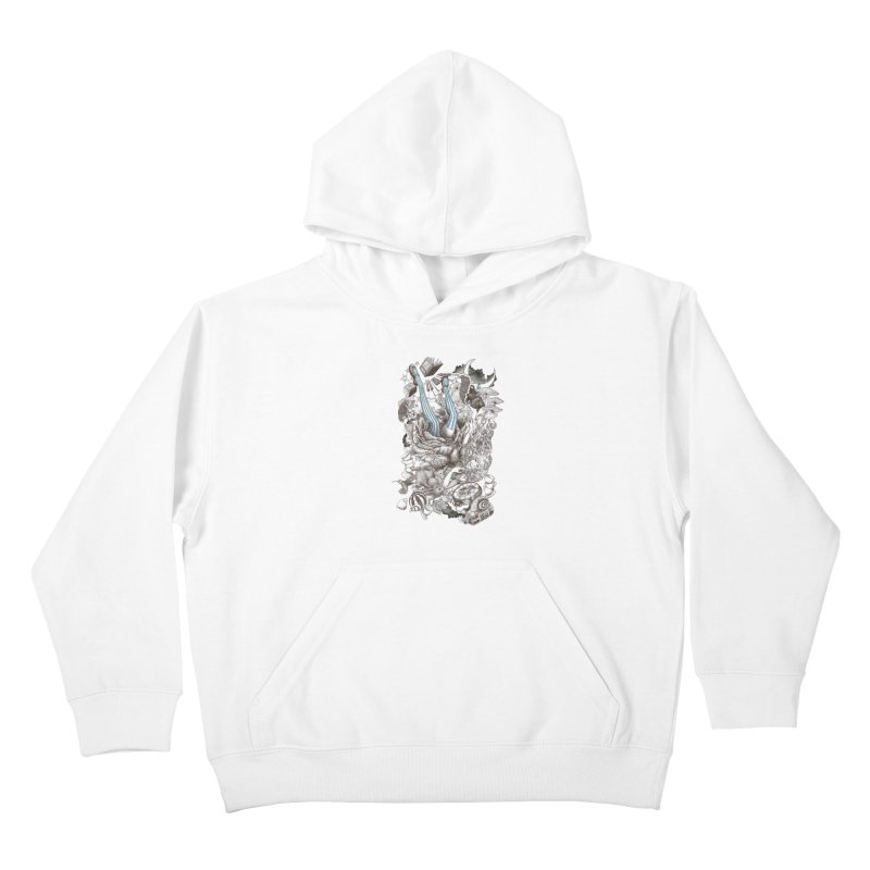 Wonderland Kids Pullover Hoody by Windville's Artist Shop