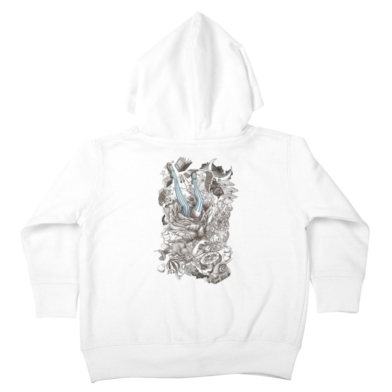 Wonderland Kids Toddler Zip-Up Hoody by Windville's Artist Shop
