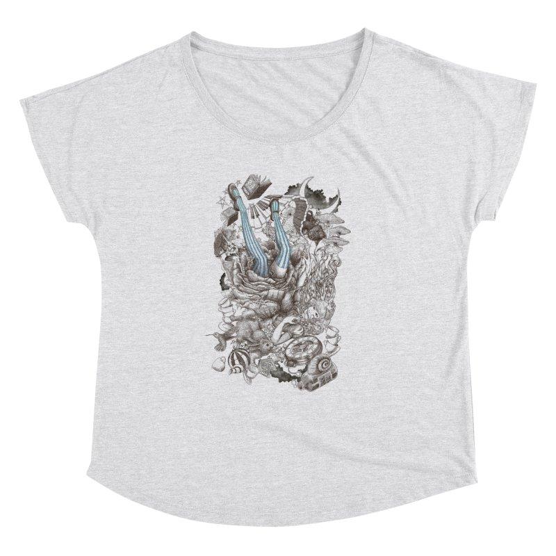 Wonderland Women's Dolman by Windville's Artist Shop