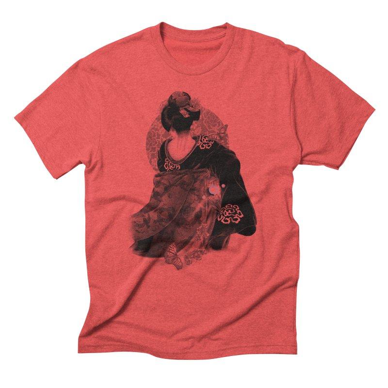 Maiko Men's Triblend T-shirt by Windville's Artist Shop