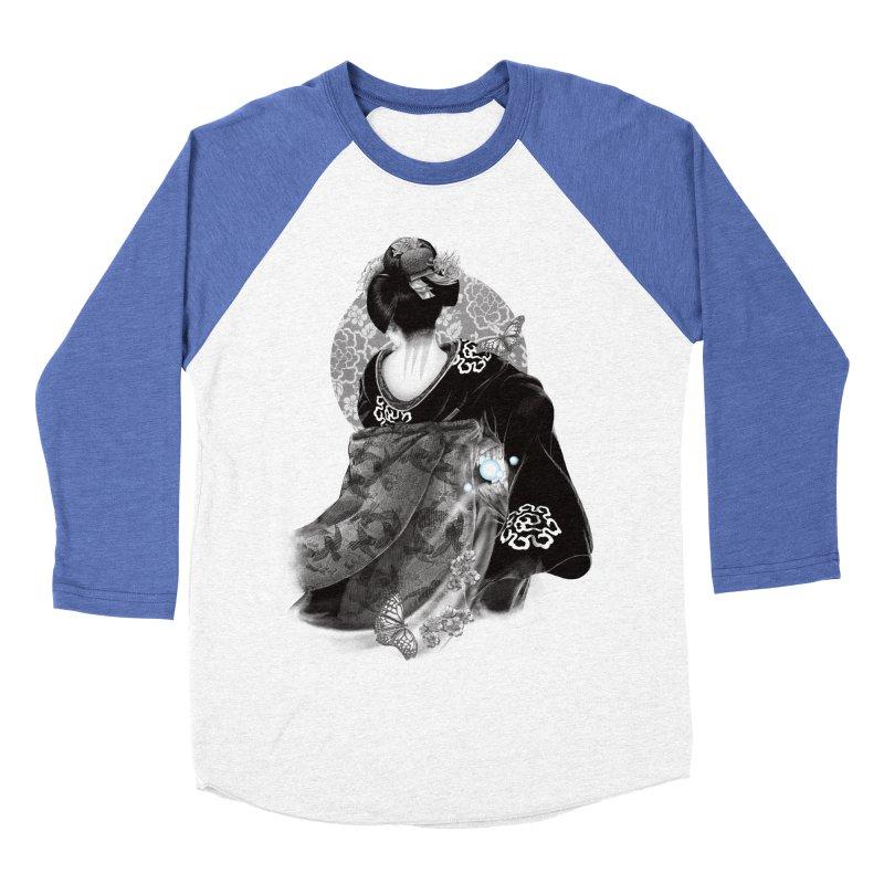 Maiko Men's Baseball Triblend T-Shirt by Windville's Artist Shop