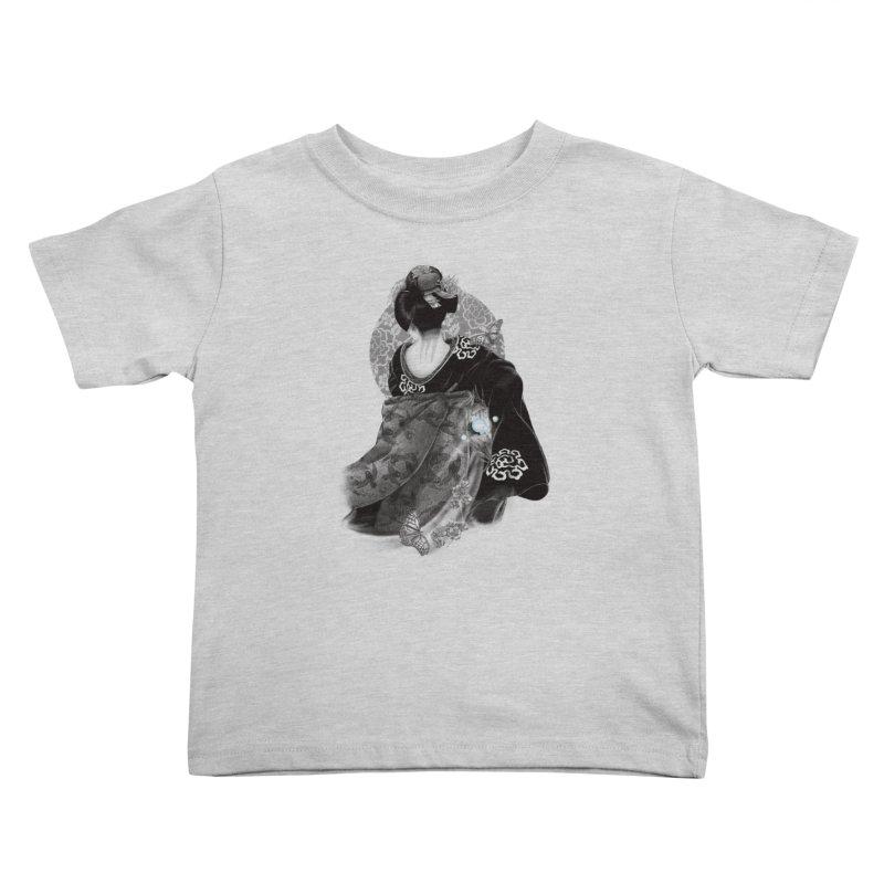 Maiko Kids Toddler T-Shirt by Windville's Artist Shop