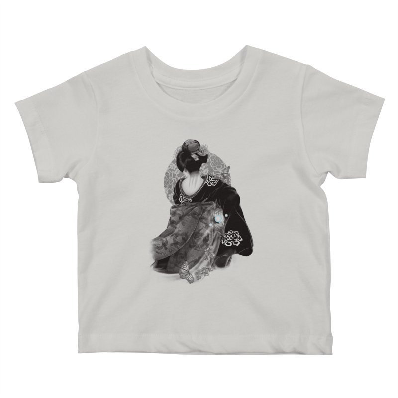 Maiko Kids Baby T-Shirt by Windville's Artist Shop