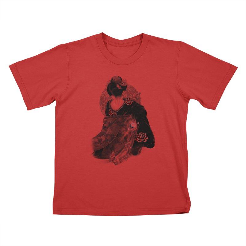 Maiko Kids T-Shirt by Windville's Artist Shop