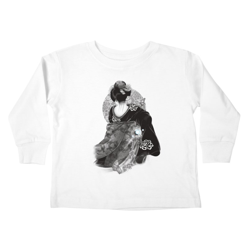 Maiko Kids Toddler Longsleeve T-Shirt by Windville's Artist Shop