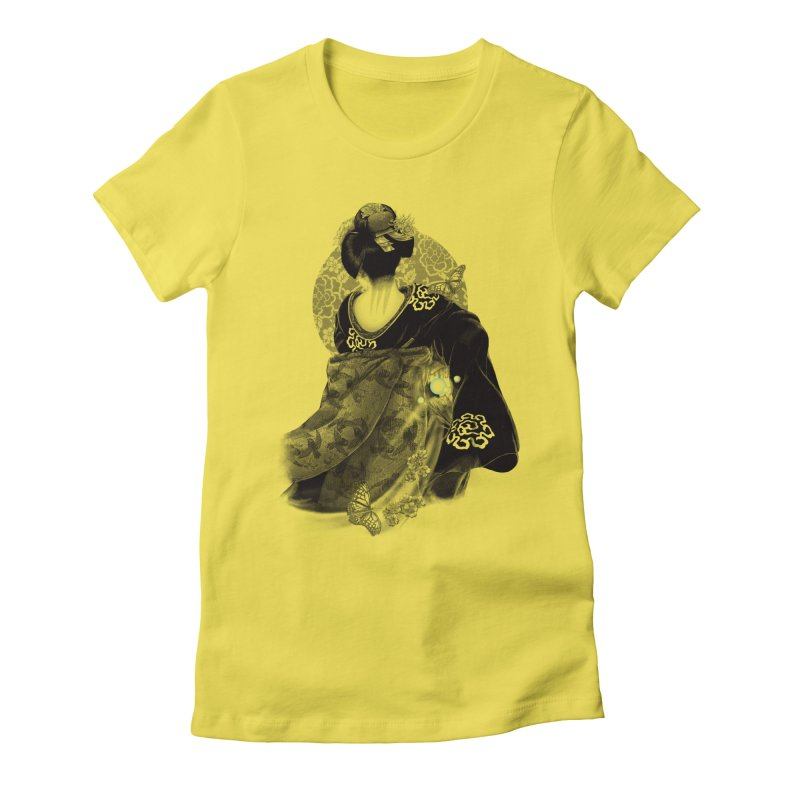 Maiko Women's Fitted T-Shirt by Windville's Artist Shop