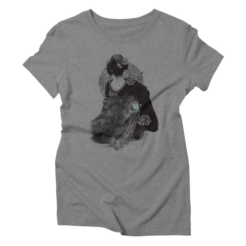Maiko Women's Triblend T-Shirt by Windville's Artist Shop