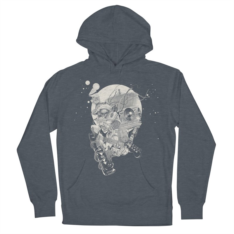 Space Concerto Men's Pullover Hoody by Windville's Artist Shop
