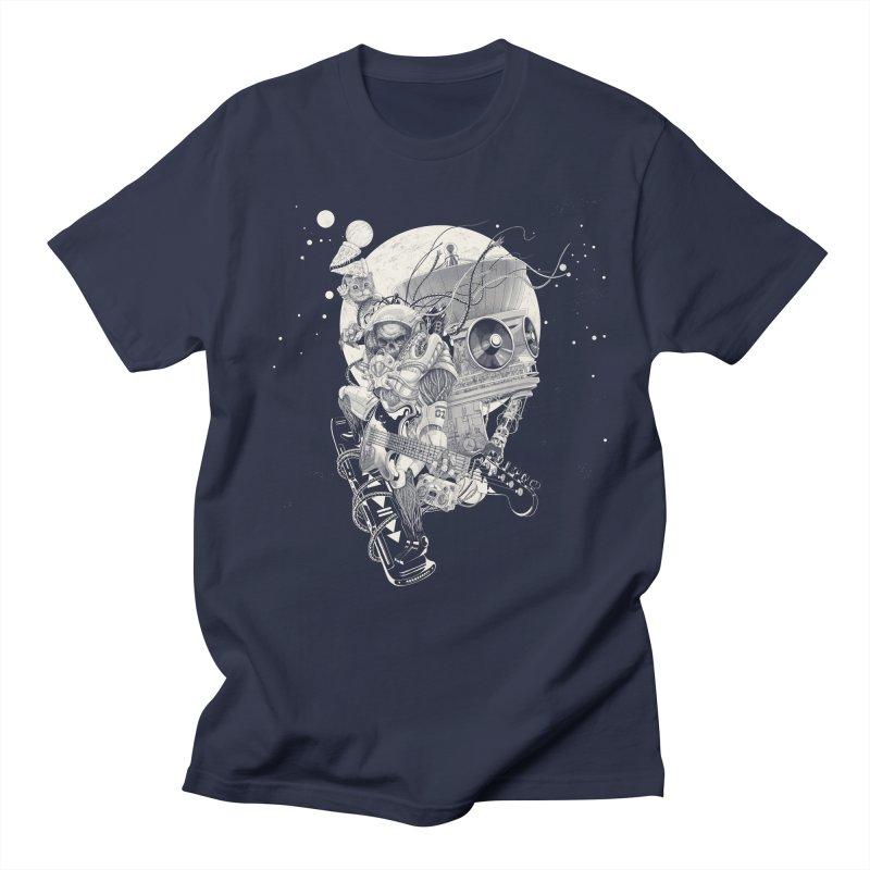 Space Concerto Men's T-Shirt by Windville's Artist Shop