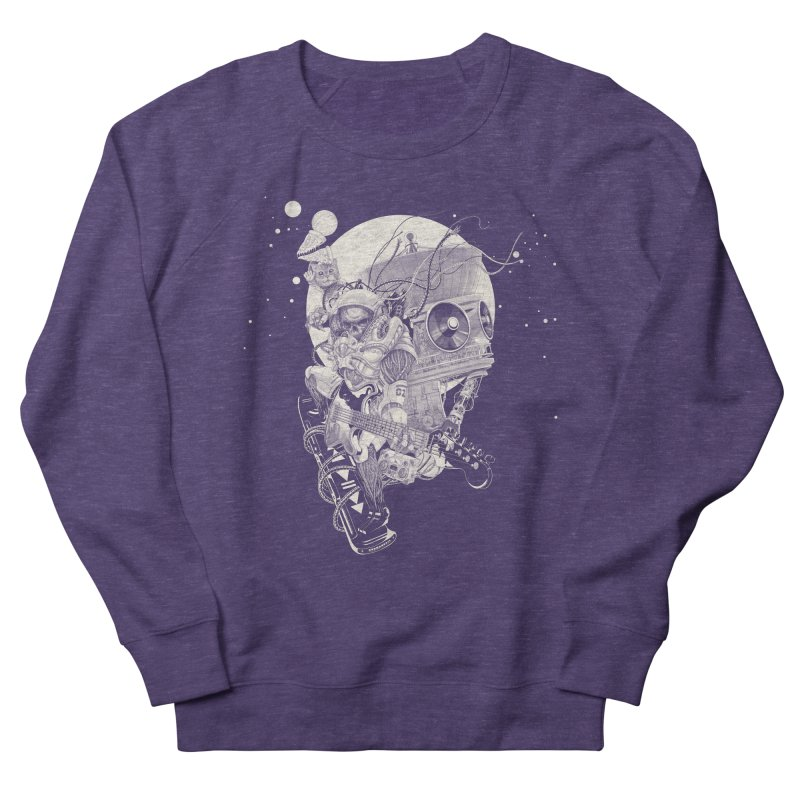 Space Concerto Men's Sweatshirt by Windville's Artist Shop
