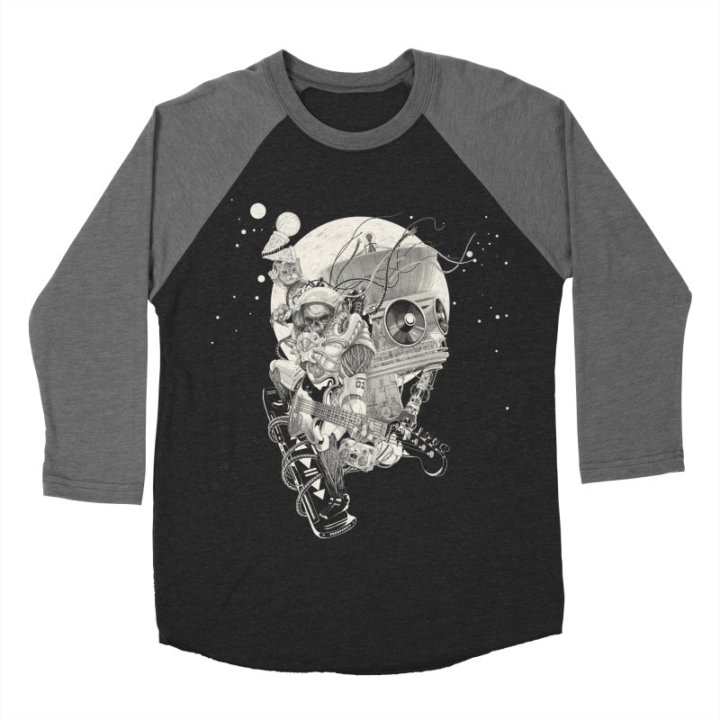 Space Concerto Men's Baseball Triblend T-Shirt by Windville's Artist Shop