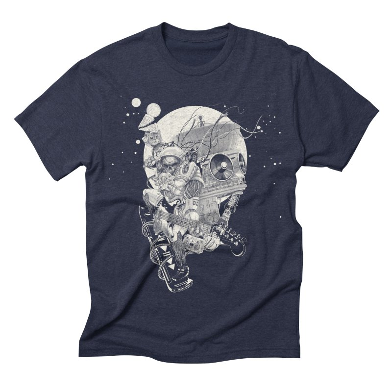 Space Concerto Men's Triblend T-shirt by Windville's Artist Shop