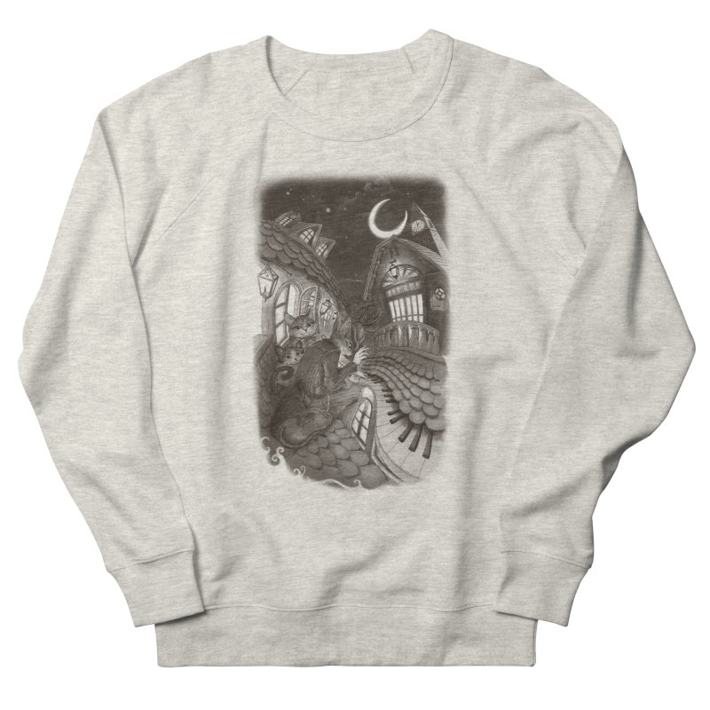 Midnight Melody Women's Sweatshirt by Windville's Artist Shop