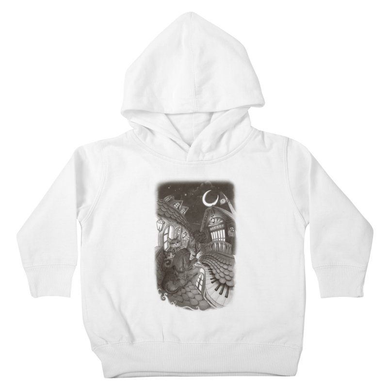 Midnight Melody Kids Toddler Pullover Hoody by Windville's Artist Shop