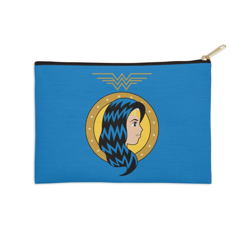 Wonder Woman Accessories Zip Pouch by WingedBomB's Artist Shop