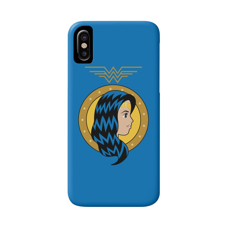 Wonder Woman Accessories Phone Case by WingedBomB's Artist Shop