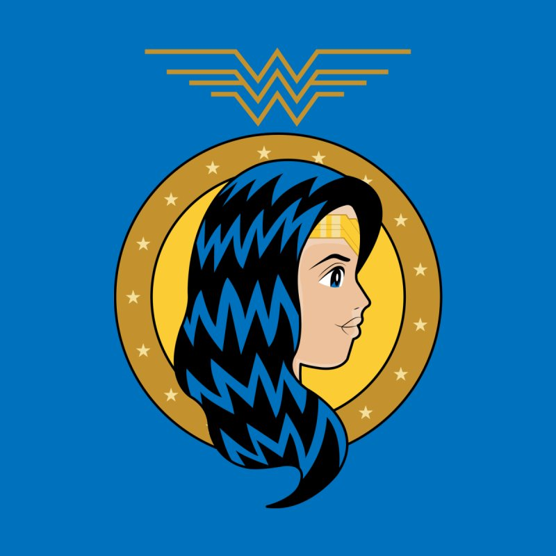 Wonder Woman Kids T-shirt by WingedBomB's Artist Shop