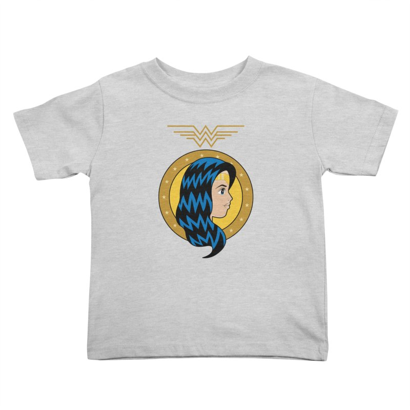 Wonder Woman Kids Toddler T-Shirt by WingedBomB's Artist Shop