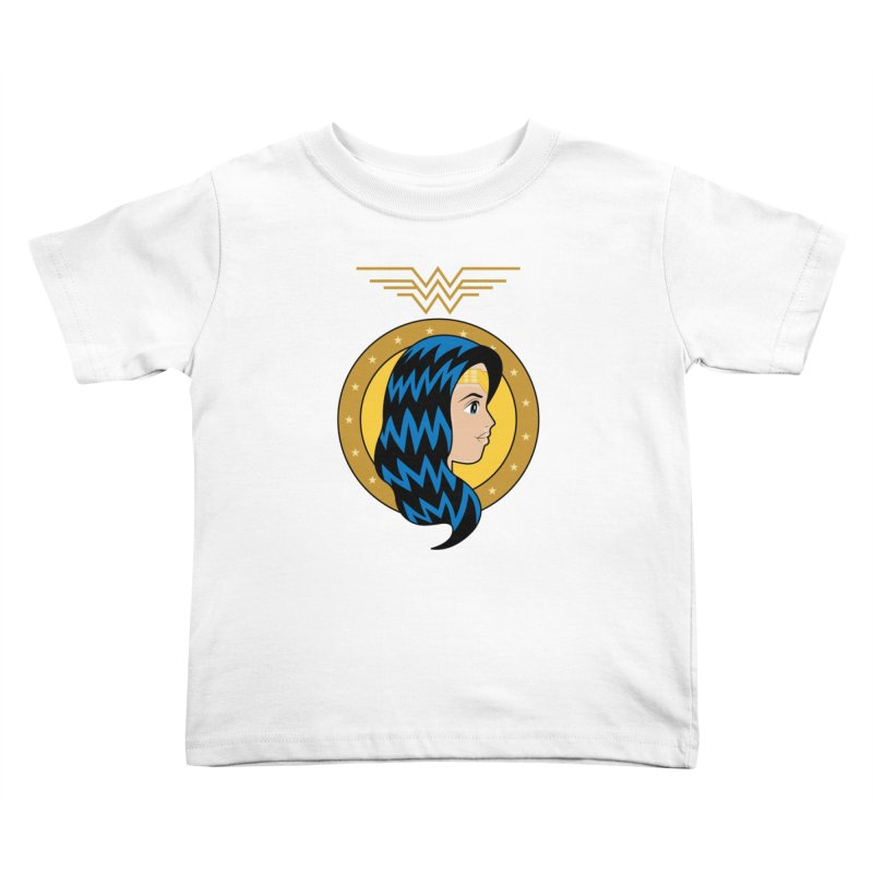 Wonder Woman Kids Toddler T-Shirt by WingedBomB's Artist Shop