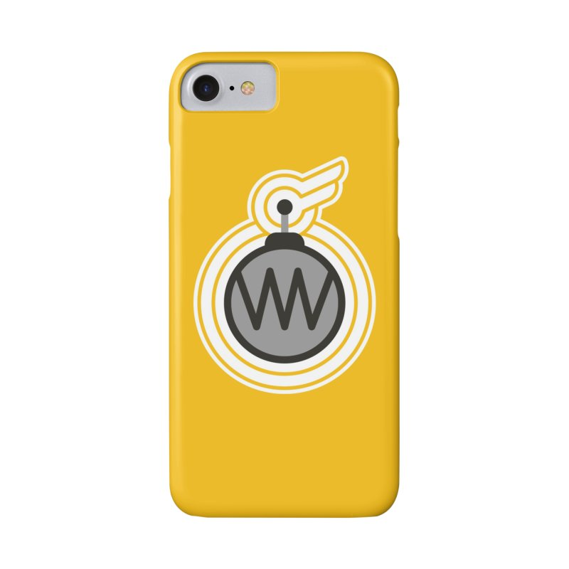 Winged Bomb in iPhone 8 Phone Case Slim by WingedBomB's Artist Shop
