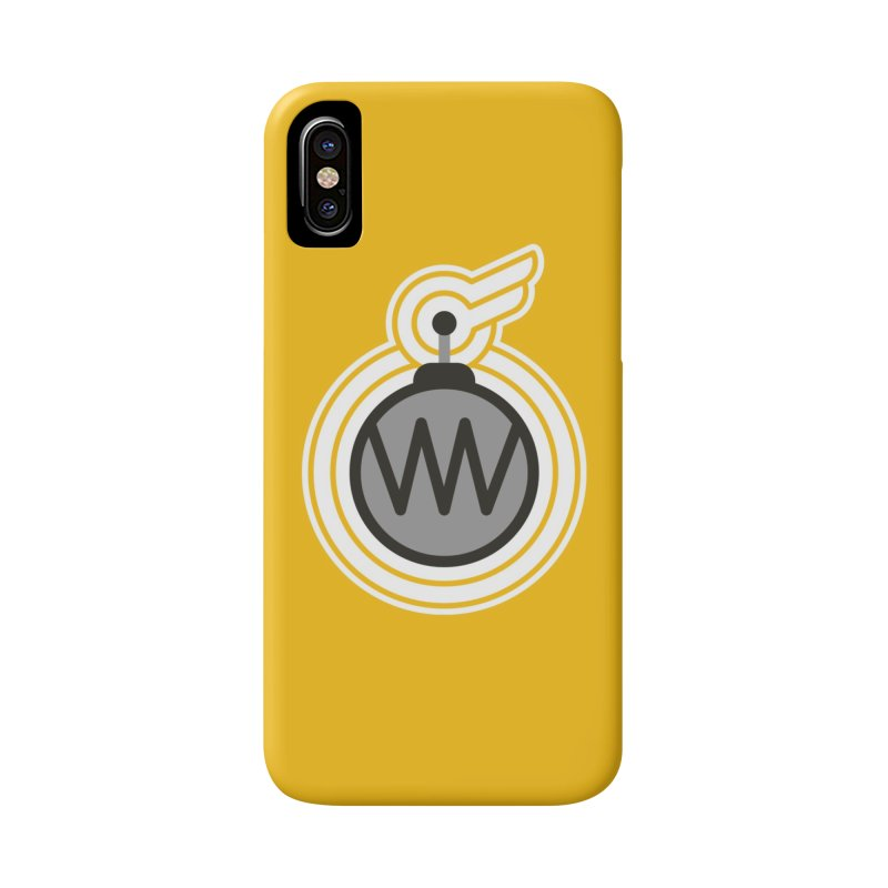Winged Bomb Accessories Phone Case by WingedBomB's Artist Shop