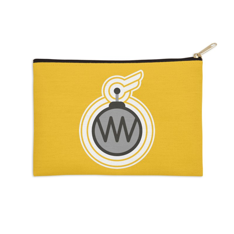 Winged Bomb Accessories Zip Pouch by WingedBomB's Artist Shop
