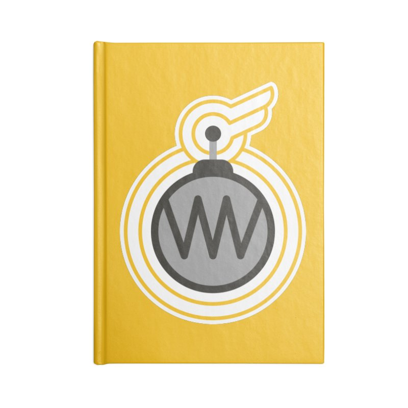 Winged Bomb Accessories Notebook by WingedBomB's Artist Shop
