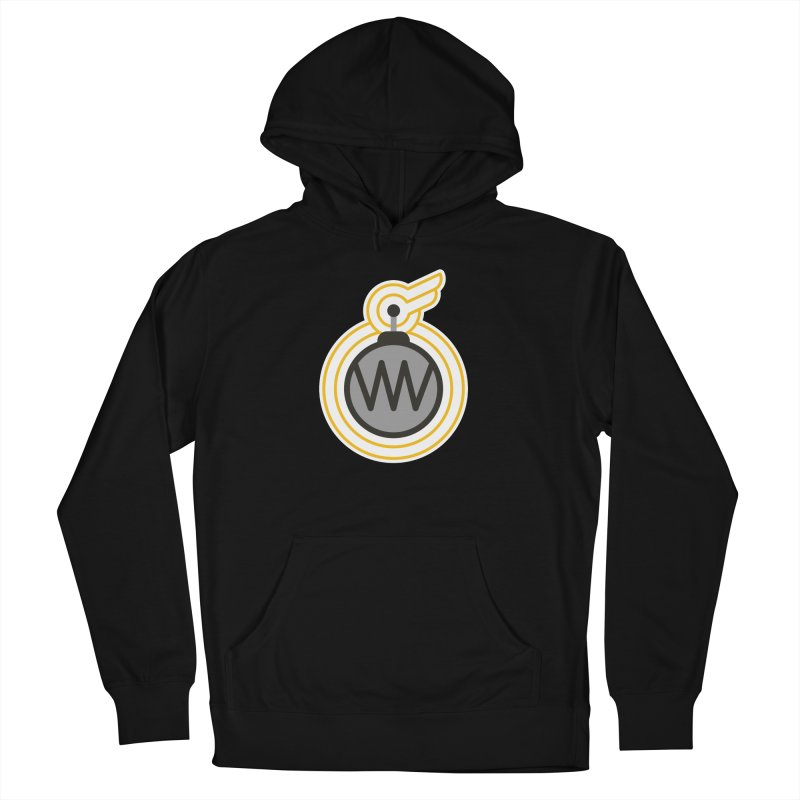 Winged Bomb Men's French Terry Pullover Hoody by WingedBomB's Artist Shop