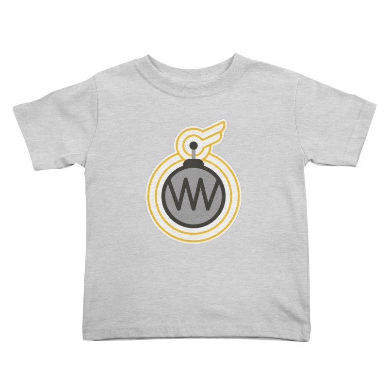 Winged Bomb Kids Toddler T-Shirt by WingedBomB's Artist Shop