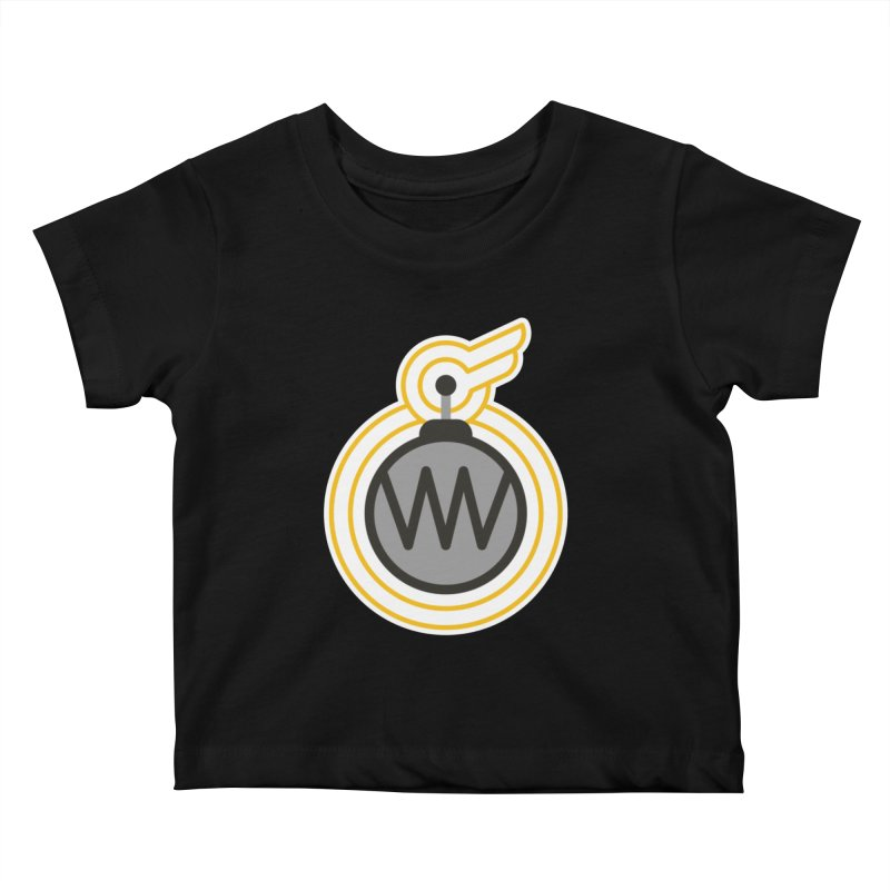 Winged Bomb Kids Baby T-Shirt by WingedBomB's Artist Shop