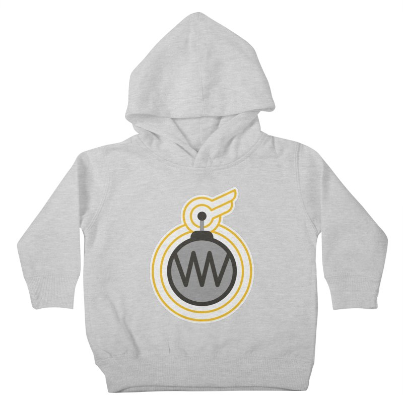 Winged Bomb Kids Toddler Pullover Hoody by WingedBomB's Artist Shop