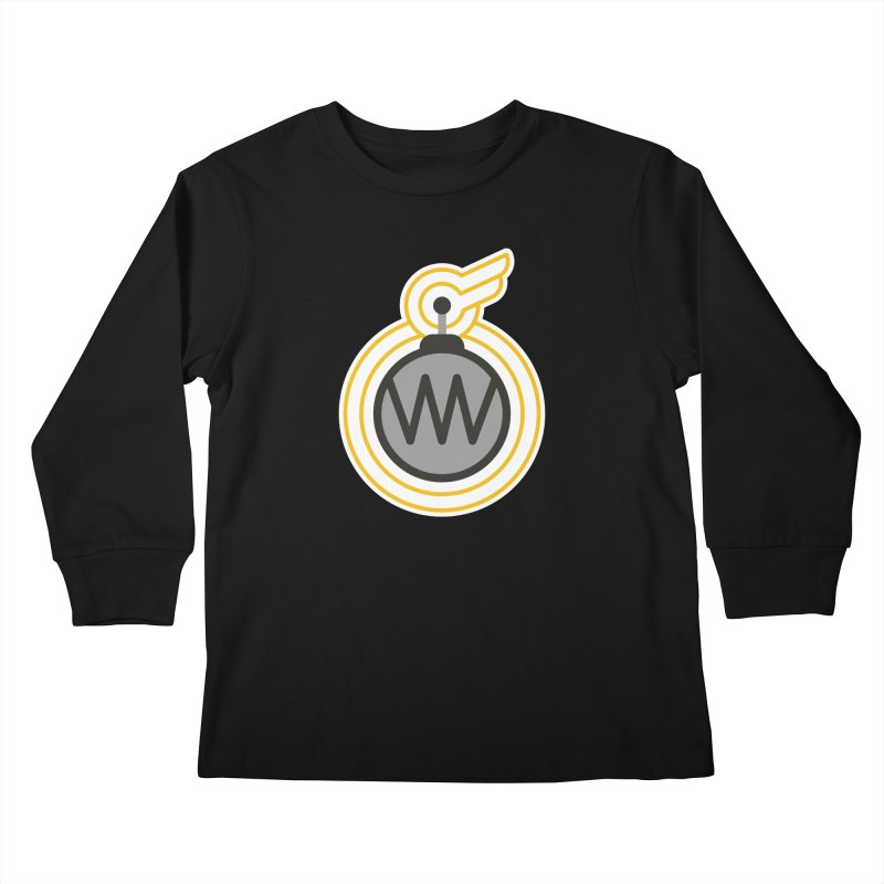 Winged Bomb Kids Longsleeve T-Shirt by WingedBomB's Artist Shop